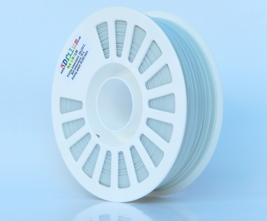 1.75mm PLAtech - Glow White