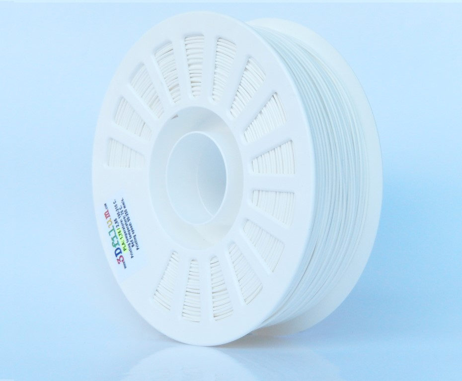 1.75mm PLAtech - White from 3Dfilum